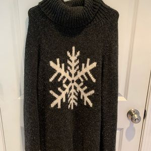 Gap Snowflake Wool/Alpaca blend Tunic